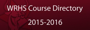 course directory button