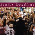 Senior Deadlines 2015